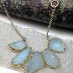 Sterling silver, gold filled multi stone earrings, necklaces, bracelets